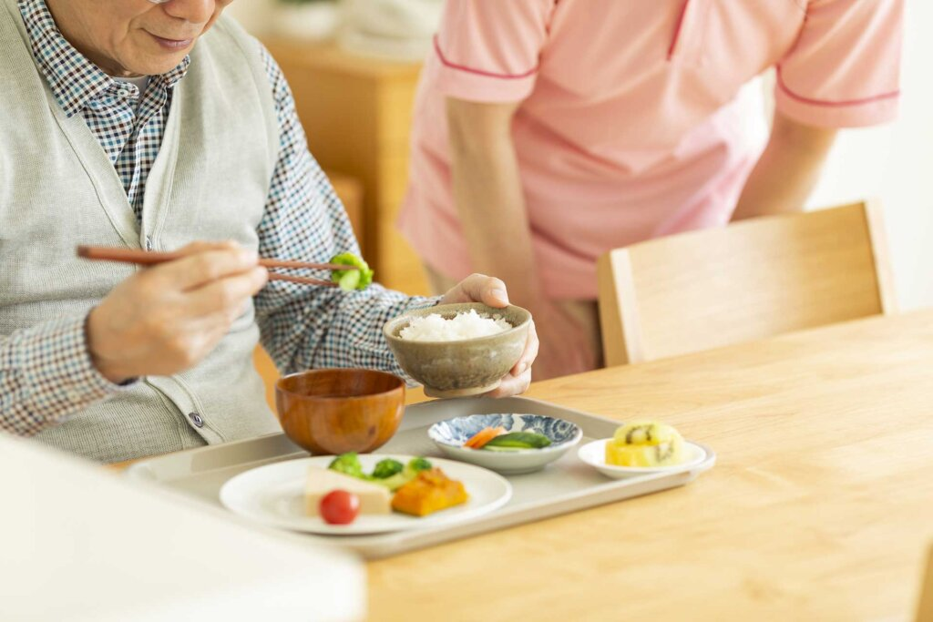 老人ホームの食事事情